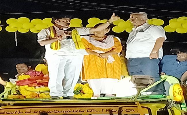 Nandamuri Balakrishna Election Campaign In Gajuwaka - Sakshi