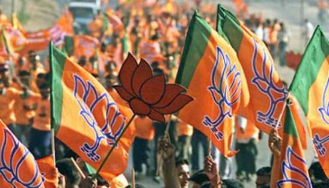 BJP To Release Party Manifesto - Sakshi