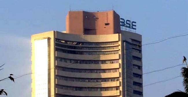 Sensex hits new record high at 39,270 - Sakshi