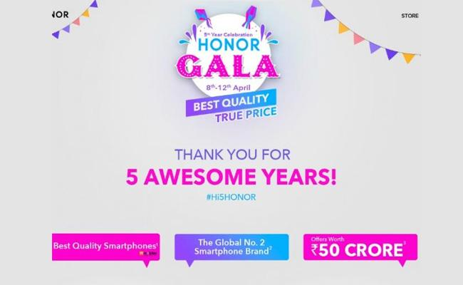 Honor Gala Festival Sale Starts Today - Sakshi