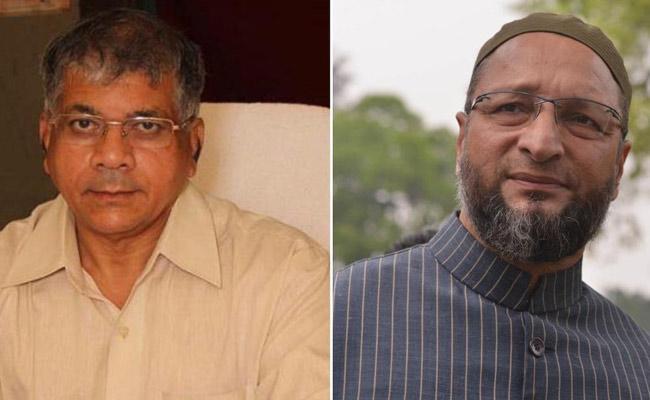 Prakash Ambedkar And Asaduddin Owaisi Alliance In Maharashtra Election - Sakshi