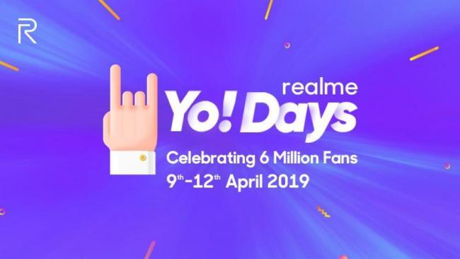 Realme Yo Days Sale - Sakshi