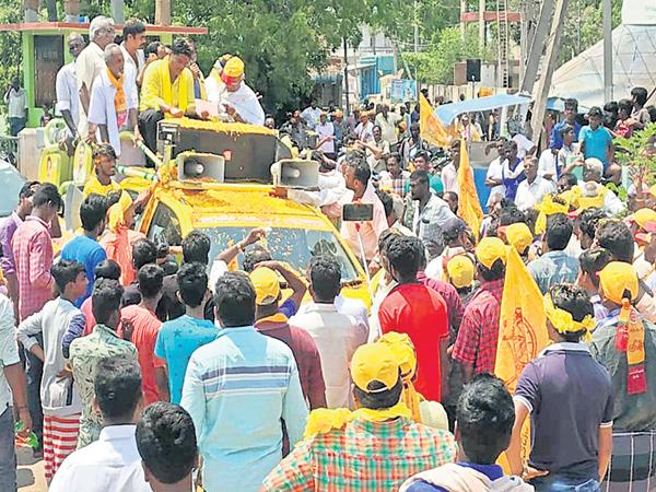 TDP Leaders Over Action All Over The State - Sakshi