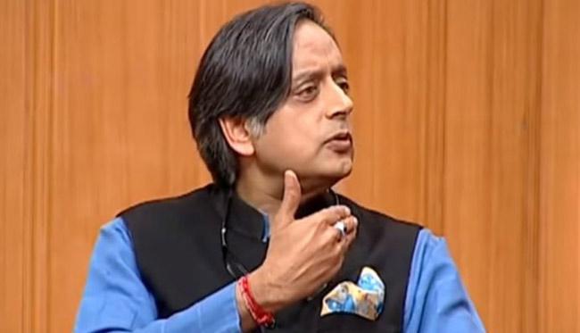 Shashi Tharoor Dares Modi To Run From Kerala Or Tamil Nadu - Sakshi