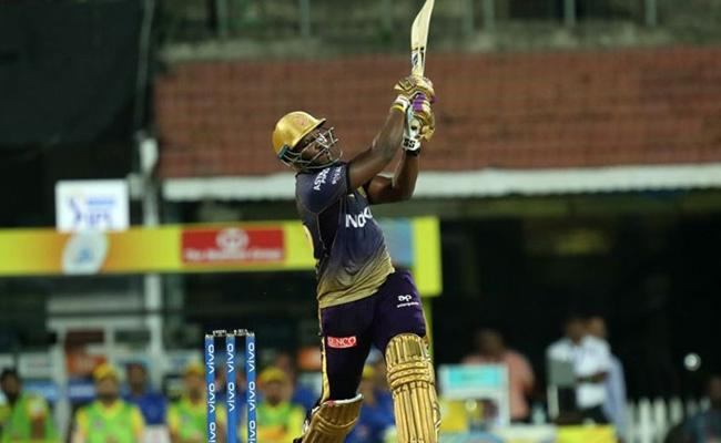 Russell Fifty Takes Knight Riders Past Hundred Against CSK - Sakshi