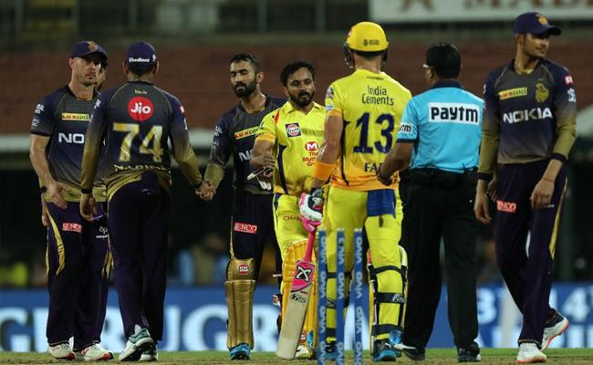 IPL 2019 Csk Won By Seven Wickets Against KKR - Sakshi