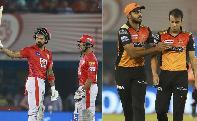 Kings XI Punjab beat Sunrisers Hyderabad by 6 wickets - Sakshi