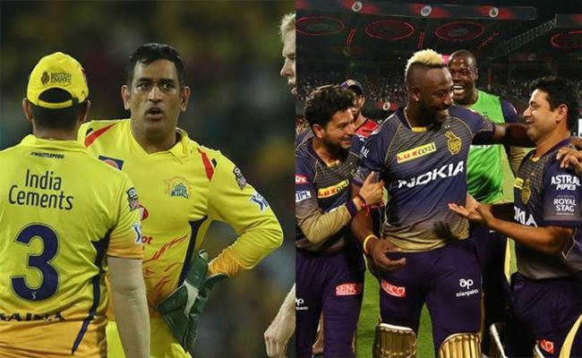 IPL 2019 CSK vs KKR Match At MA Chidambaram Stadium - Sakshi