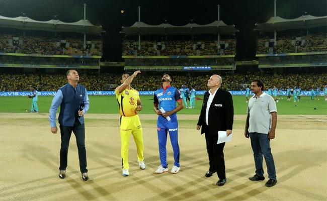 IPL 2019 Delhi Capitals opt to bowl First Against CSK - Sakshi