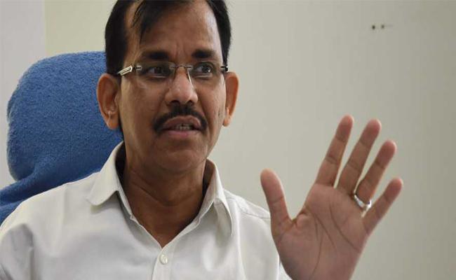 Gopala Krishna Dwivedi Press Meet Over Cyclone Fani - Sakshi
