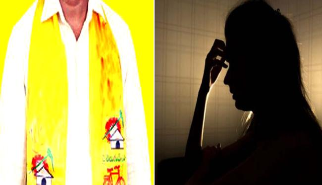 Kadapa District TDP Leader Harassed Sister In Law - Sakshi
