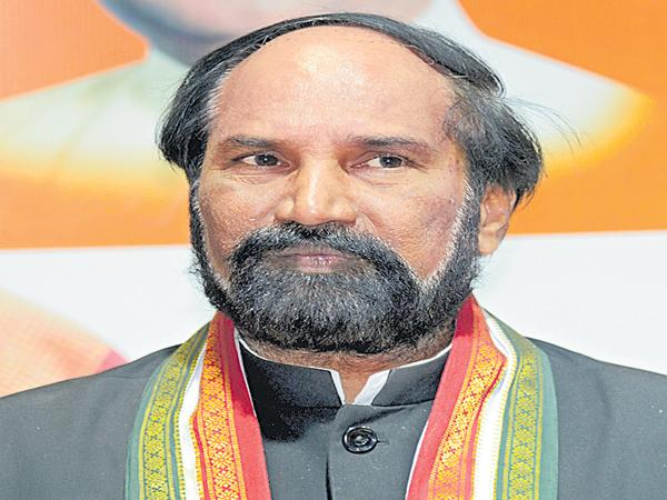 Uttam Kumar Reddy Comments On TRS Govt - Sakshi