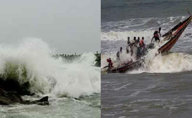 Cyclone Fani At 205 Kmph Would Hit Odisha Friday Afternoon - Sakshi