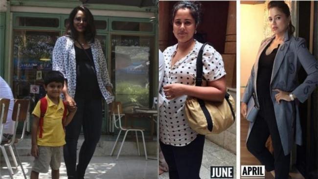 Sameera Reddy Shares Body Transformation After Pregnancy - Sakshi