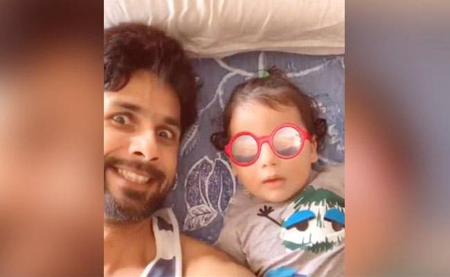 Shahid Kapoor Shares Adorable Moments With Son Zain Fans Loving It - Sakshi