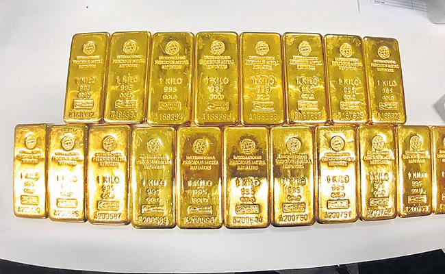Import gold from abroad from illegal - Sakshi
