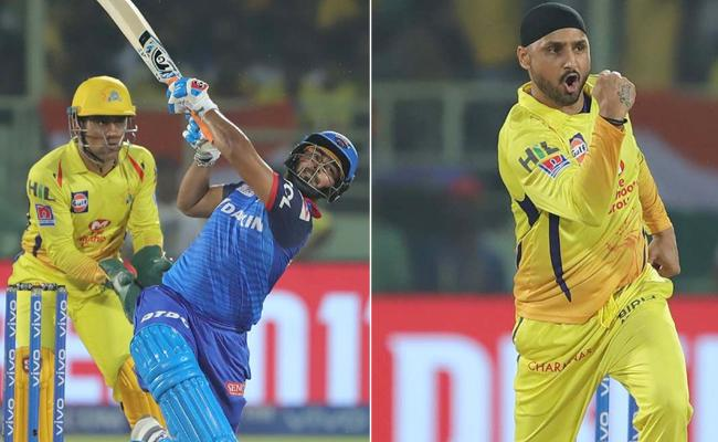 IPL 2019 Qualifier 2 Delhi Set 148 Run Target For CSK - Sakshi