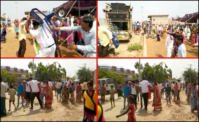 Tension In Peekla Nayak Thanda - Sakshi