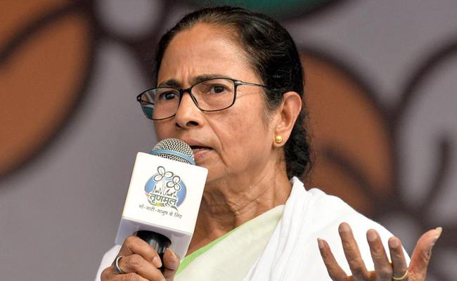Did Mamata Banerjee really say, I will slap Modi? - Sakshi
