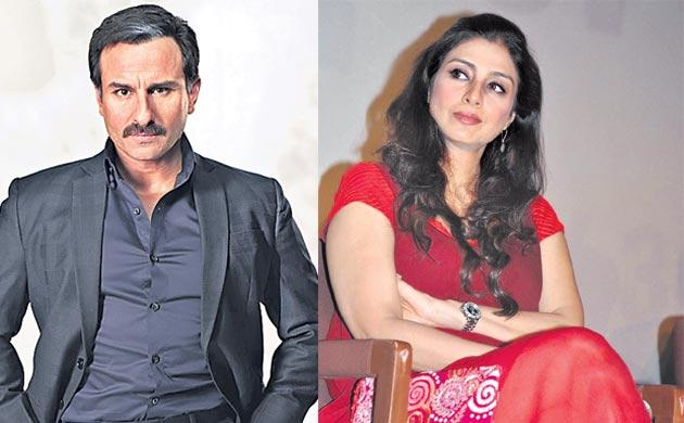 Tabu And Saif Ali Khan Are Reuniting In Jawaani Jaaneman After 20 years - Sakshi