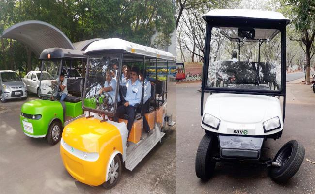 Zoo Park Battery Cars in Gujarat Contractors - Sakshi