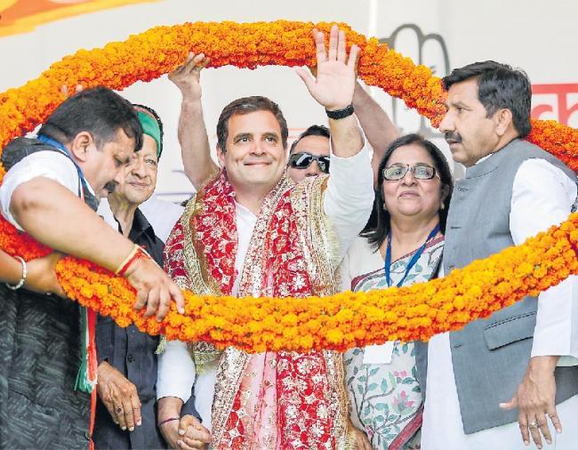 Modi hates my family, I will repay him with love - Sakshi
