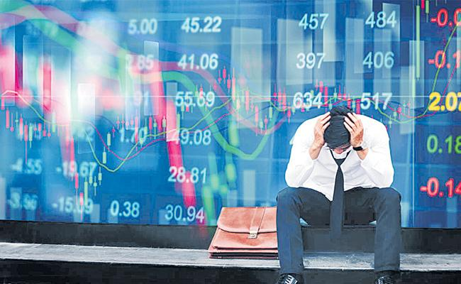 Sensex ends down by 95 points, Nifty at 1127 - Sakshi