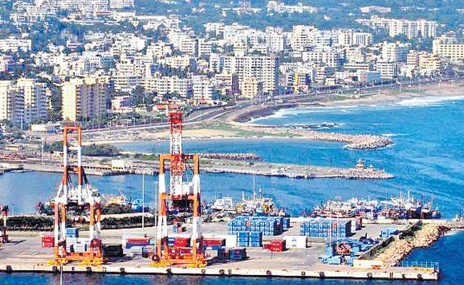 Vishakha port profit of Rs. 200 crores - Sakshi