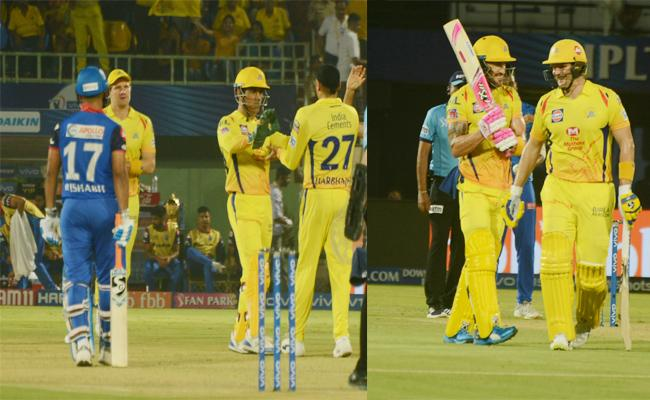 Chennai Super Kings Beat Delhi With Six Wickets in Visakhapatnam - Sakshi