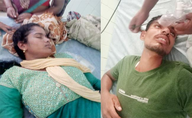 Married Woman Commits Suicide Attempt With Lover in Srikakulam - Sakshi