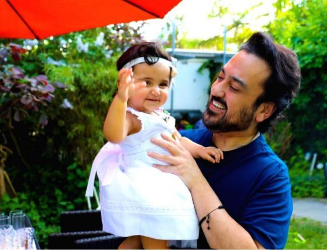 Adnan Sami  gift worth  usd 4500 for daughter - Sakshi