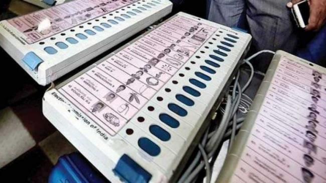 Poll Officer Suspended For Carrying Reserve EVM To His Residence - Sakshi