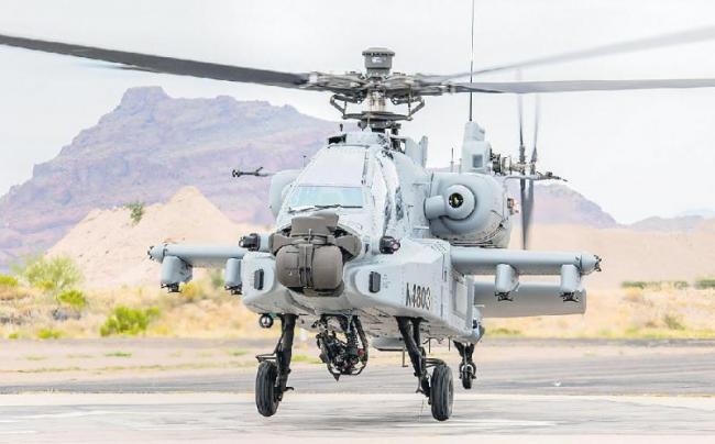 IAF gets first Apache Guardian attack helicopter - Sakshi