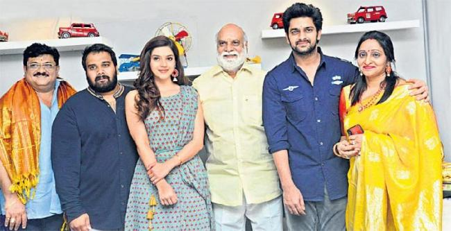 Naga Shourya-Mehreen New Movie Launched - Sakshi