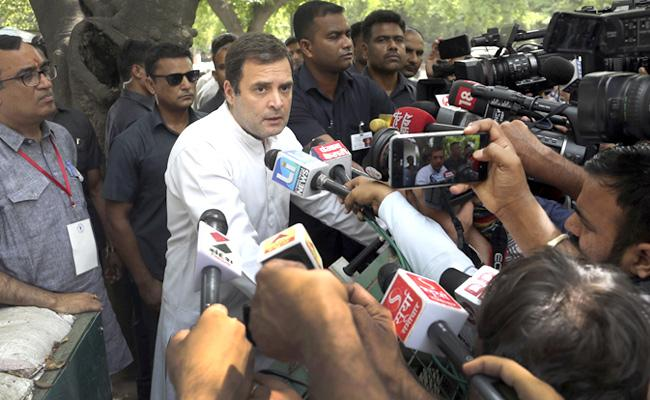 Rahul Says Narendra Modi Used Hatred In The Campaign - Sakshi