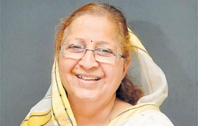 Sumitra Mahajan still in Indore limelight - Sakshi