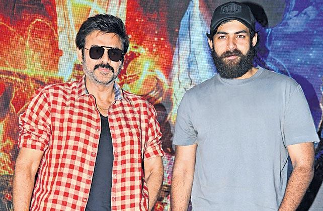 Venkatesh and Varun Tej dub for 'Aladdin' Telugu version - Sakshi
