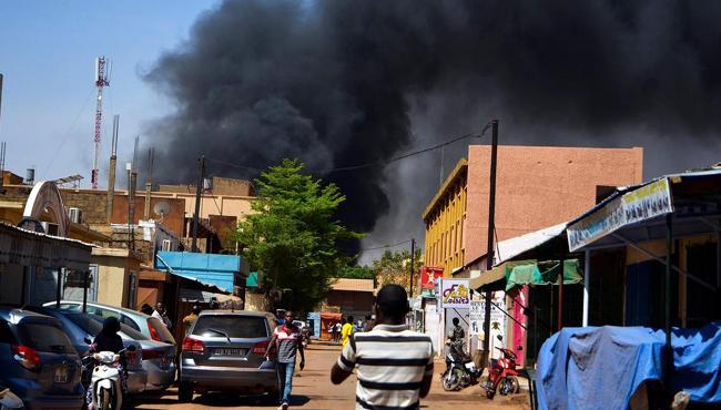 six people killed in Burkina Faso church attack - Sakshi