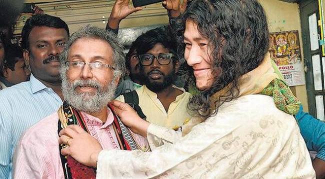 On MotherDay, Twin Girls for Irom Sharmila - Sakshi