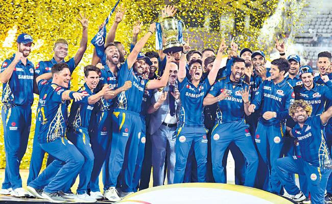 IPL 2019 Mumbai Clinch Its 4th Title In A Last Ball Thriller - Sakshi
