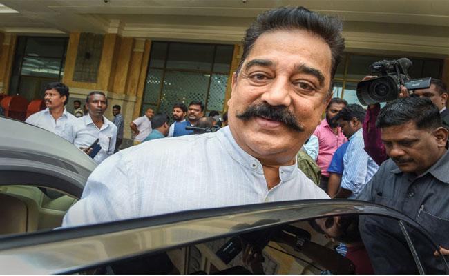 Kamal Haasan Sensational Comments On Nathuram Godse - Sakshi