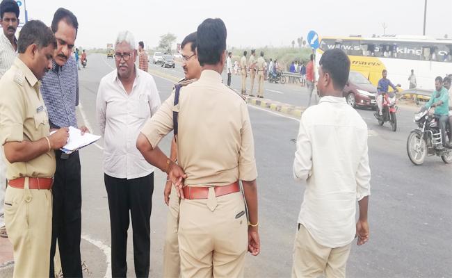 Road Accidents in Kurnool NH 44 Highway - Sakshi