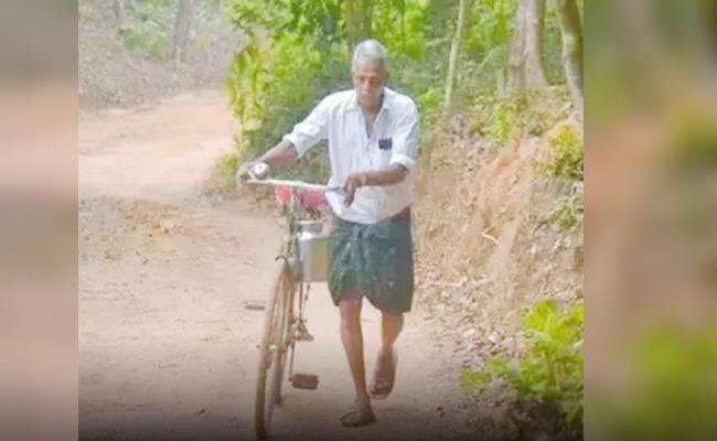 MLA Father Simplicity Viral in Social Media - Sakshi