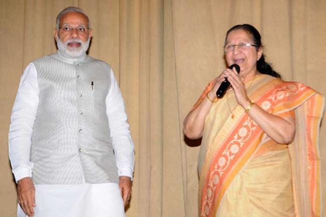 Narendra Modi Said Only Tai Can Admonish Me - Sakshi
