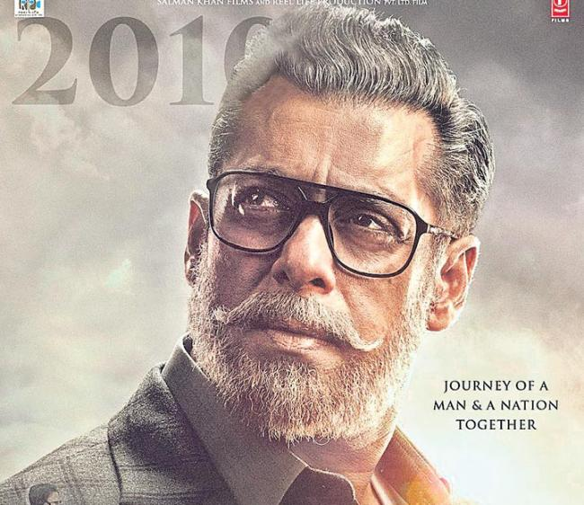 Salman Khan Take Two And A Half Hour To Old Man Makeup - Sakshi