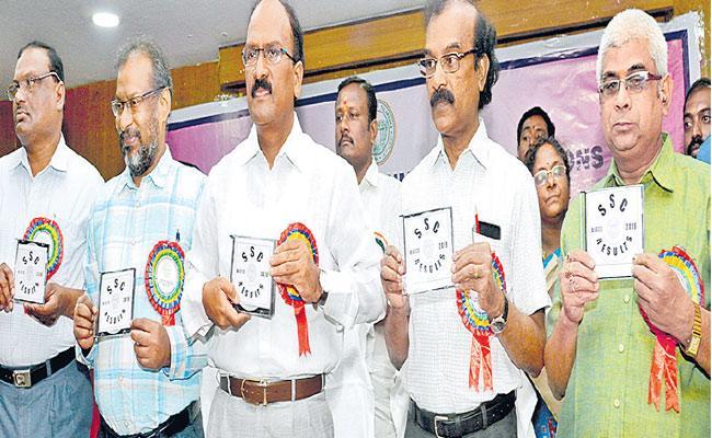 Telangana 10th Results Record Time Pass Percentage - Sakshi