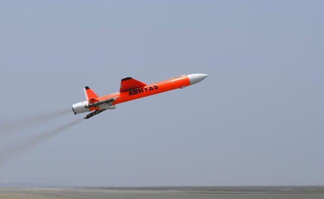 DRDO successful flight test of ABHYAS from Chandipur - Sakshi