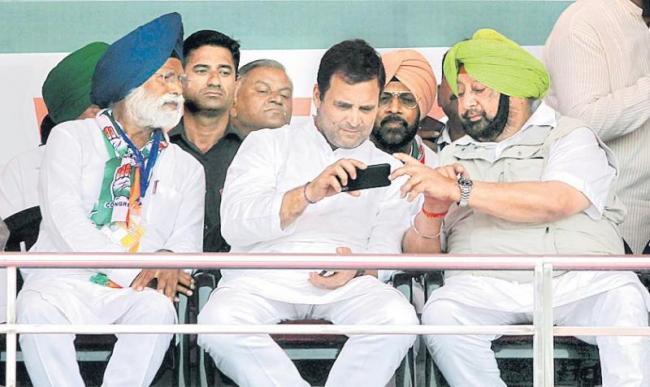Rahul Gandhi hits out at Sam Pitroda for remarks on 1984 riots - Sakshi