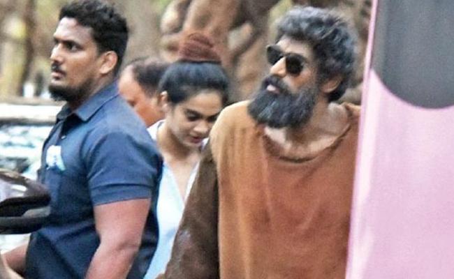 Rana Daggubati Shocking Look In Haathi Mere Saathi - Sakshi