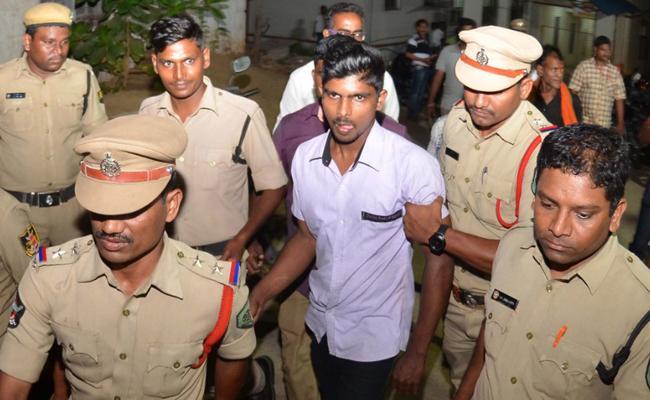 Srinivas Attend At NIA Court In Vijayawada - Sakshi